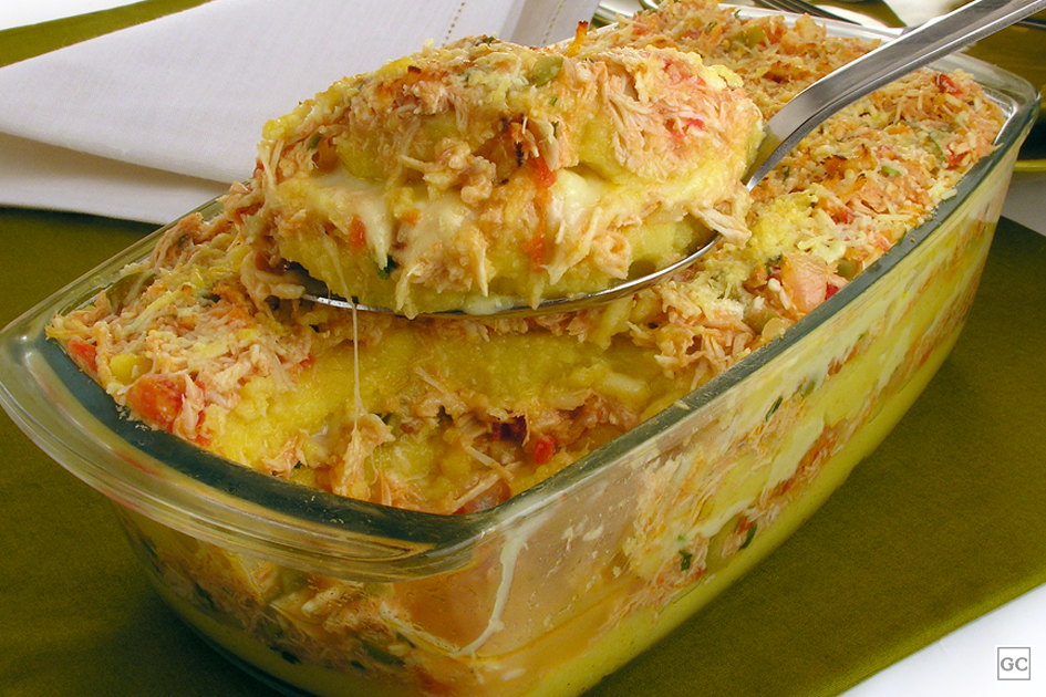 receitas com polenta
